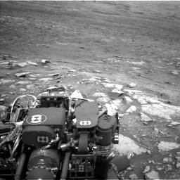 Nasa's Mars rover Curiosity acquired this image using its Left Navigation Camera on Sol 3005, at drive 240, site number 85