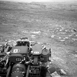 Nasa's Mars rover Curiosity acquired this image using its Left Navigation Camera on Sol 3005, at drive 264, site number 85