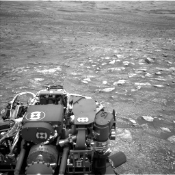 Nasa's Mars rover Curiosity acquired this image using its Left Navigation Camera on Sol 3005, at drive 276, site number 85
