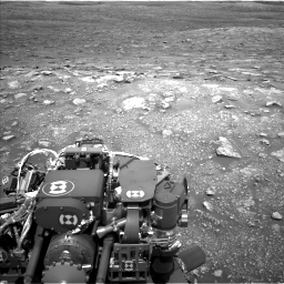 Nasa's Mars rover Curiosity acquired this image using its Left Navigation Camera on Sol 3005, at drive 354, site number 85