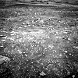 Nasa's Mars rover Curiosity acquired this image using its Left Navigation Camera on Sol 3005, at drive 360, site number 85