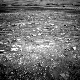 Nasa's Mars rover Curiosity acquired this image using its Left Navigation Camera on Sol 3005, at drive 366, site number 85