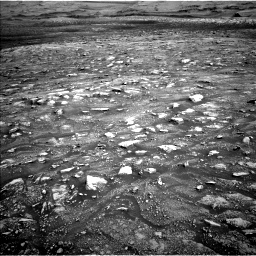 Nasa's Mars rover Curiosity acquired this image using its Left Navigation Camera on Sol 3005, at drive 384, site number 85