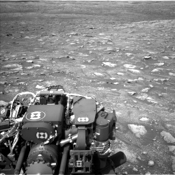 Nasa's Mars rover Curiosity acquired this image using its Left Navigation Camera on Sol 3005, at drive 432, site number 85