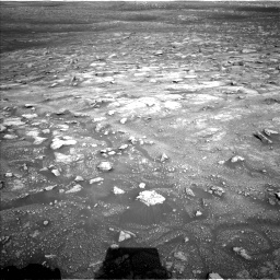 Nasa's Mars rover Curiosity acquired this image using its Left Navigation Camera on Sol 3005, at drive 522, site number 85