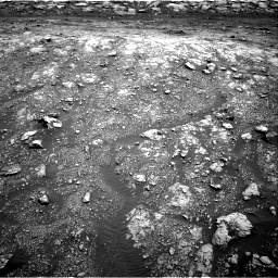 Nasa's Mars rover Curiosity acquired this image using its Right Navigation Camera on Sol 3005, at drive 114, site number 85