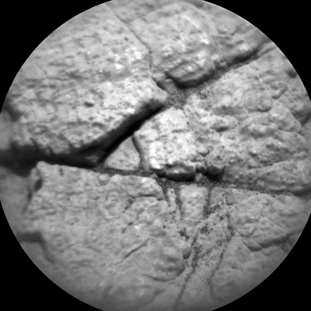 Nasa's Mars rover Curiosity acquired this image using its Chemistry & Camera (ChemCam) on Sol 3007, at drive 538, site number 85