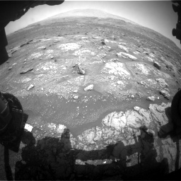 Nasa's Mars rover Curiosity acquired this image using its Front Hazard Avoidance Camera (Front Hazcam) on Sol 3008, at drive 784, site number 85