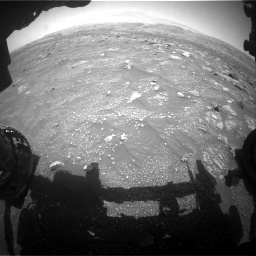 Nasa's Mars rover Curiosity acquired this image using its Front Hazard Avoidance Camera (Front Hazcam) on Sol 3008, at drive 850, site number 85