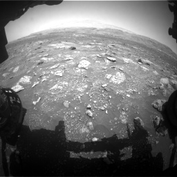 Nasa's Mars rover Curiosity acquired this image using its Front Hazard Avoidance Camera (Front Hazcam) on Sol 3008, at drive 880, site number 85