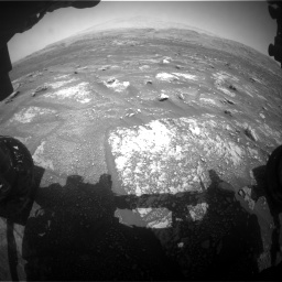 Nasa's Mars rover Curiosity acquired this image using its Front Hazard Avoidance Camera (Front Hazcam) on Sol 3008, at drive 916, site number 85