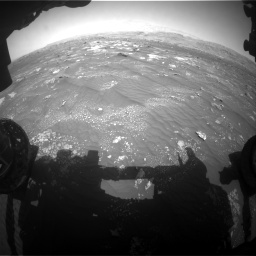 Nasa's Mars rover Curiosity acquired this image using its Front Hazard Avoidance Camera (Front Hazcam) on Sol 3008, at drive 970, site number 85