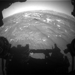 Nasa's Mars rover Curiosity acquired this image using its Front Hazard Avoidance Camera (Front Hazcam) on Sol 3008, at drive 976, site number 85