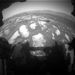 Nasa's Mars rover Curiosity acquired this image using its Front Hazard Avoidance Camera (Front Hazcam) on Sol 3008, at drive 1012, site number 85