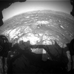 Nasa's Mars rover Curiosity acquired this image using its Front Hazard Avoidance Camera (Front Hazcam) on Sol 3008, at drive 1030, site number 85