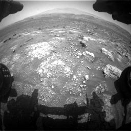 Nasa's Mars rover Curiosity acquired this image using its Front Hazard Avoidance Camera (Front Hazcam) on Sol 3008, at drive 796, site number 85
