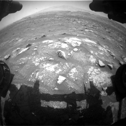 Nasa's Mars rover Curiosity acquired this image using its Front Hazard Avoidance Camera (Front Hazcam) on Sol 3008, at drive 832, site number 85