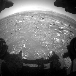 Nasa's Mars rover Curiosity acquired this image using its Front Hazard Avoidance Camera (Front Hazcam) on Sol 3008, at drive 868, site number 85