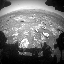 Nasa's Mars rover Curiosity acquired this image using its Front Hazard Avoidance Camera (Front Hazcam) on Sol 3008, at drive 892, site number 85