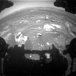 Nasa's Mars rover Curiosity acquired this image using its Front Hazard Avoidance Camera (Front Hazcam) on Sol 3008, at drive 928, site number 85