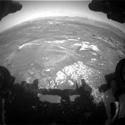 Nasa's Mars rover Curiosity acquired this image using its Front Hazard Avoidance Camera (Front Hazcam) on Sol 3008, at drive 940, site number 85