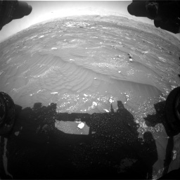 Nasa's Mars rover Curiosity acquired this image using its Front Hazard Avoidance Camera (Front Hazcam) on Sol 3008, at drive 952, site number 85