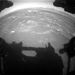 Nasa's Mars rover Curiosity acquired this image using its Front Hazard Avoidance Camera (Front Hazcam) on Sol 3008, at drive 958, site number 85