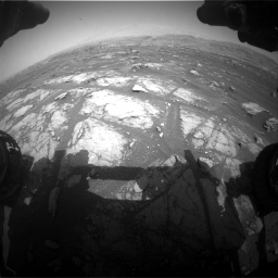 Nasa's Mars rover Curiosity acquired this image using its Front Hazard Avoidance Camera (Front Hazcam) on Sol 3008, at drive 1024, site number 85