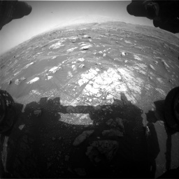 Nasa's Mars rover Curiosity acquired this image using its Front Hazard Avoidance Camera (Front Hazcam) on Sol 3008, at drive 1036, site number 85