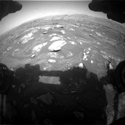 Nasa's Mars rover Curiosity acquired this image using its Front Hazard Avoidance Camera (Front Hazcam) on Sol 3008, at drive 1042, site number 85