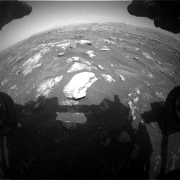 Nasa's Mars rover Curiosity acquired this image using its Front Hazard Avoidance Camera (Front Hazcam) on Sol 3008, at drive 1048, site number 85