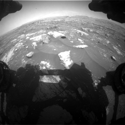 Nasa's Mars rover Curiosity acquired this image using its Front Hazard Avoidance Camera (Front Hazcam) on Sol 3008, at drive 1054, site number 85
