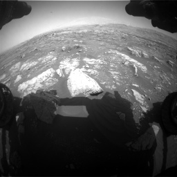 Nasa's Mars rover Curiosity acquired this image using its Front Hazard Avoidance Camera (Front Hazcam) on Sol 3008, at drive 1060, site number 85