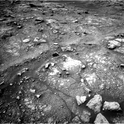 Nasa's Mars rover Curiosity acquired this image using its Left Navigation Camera on Sol 3008, at drive 538, site number 85