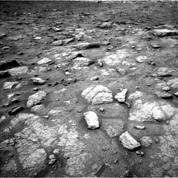Nasa's Mars rover Curiosity acquired this image using its Left Navigation Camera on Sol 3008, at drive 592, site number 85