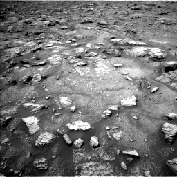 Nasa's Mars rover Curiosity acquired this image using its Left Navigation Camera on Sol 3008, at drive 688, site number 85