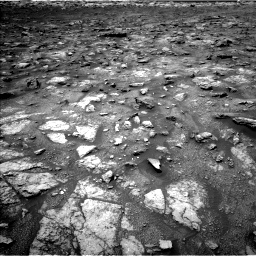 Nasa's Mars rover Curiosity acquired this image using its Left Navigation Camera on Sol 3008, at drive 724, site number 85