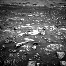 Nasa's Mars rover Curiosity acquired this image using its Left Navigation Camera on Sol 3008, at drive 862, site number 85