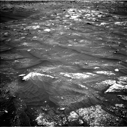 Nasa's Mars rover Curiosity acquired this image using its Left Navigation Camera on Sol 3008, at drive 934, site number 85