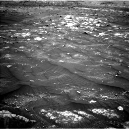 Nasa's Mars rover Curiosity acquired this image using its Left Navigation Camera on Sol 3008, at drive 940, site number 85