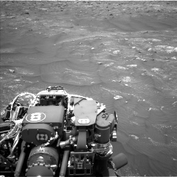 Nasa's Mars rover Curiosity acquired this image using its Left Navigation Camera on Sol 3008, at drive 946, site number 85