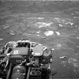 Nasa's Mars rover Curiosity acquired this image using its Left Navigation Camera on Sol 3008, at drive 964, site number 85