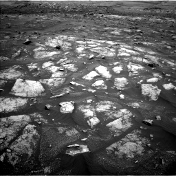 Nasa's Mars rover Curiosity acquired this image using its Left Navigation Camera on Sol 3008, at drive 988, site number 85