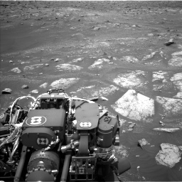 Nasa's Mars rover Curiosity acquired this image using its Left Navigation Camera on Sol 3008, at drive 994, site number 85