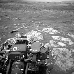 Nasa's Mars rover Curiosity acquired this image using its Left Navigation Camera on Sol 3008, at drive 1018, site number 85