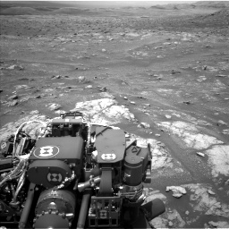 Nasa's Mars rover Curiosity acquired this image using its Left Navigation Camera on Sol 3008, at drive 1024, site number 85