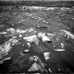 Nasa's Mars rover Curiosity acquired this image using its Left Navigation Camera on Sol 3008, at drive 1042, site number 85