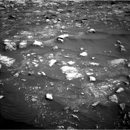 Nasa's Mars rover Curiosity acquired this image using its Left Navigation Camera on Sol 3008, at drive 1048, site number 85