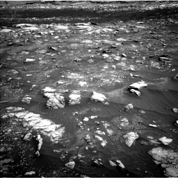 Nasa's Mars rover Curiosity acquired this image using its Left Navigation Camera on Sol 3008, at drive 1054, site number 85