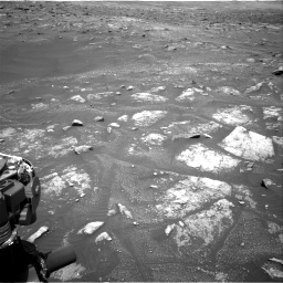 Nasa's Mars rover Curiosity acquired this image using its Right Navigation Camera on Sol 3008, at drive 988, site number 85